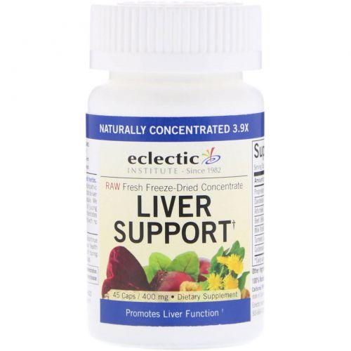 Eclectic Institute, Поддержка печени, 45 растительных капсул