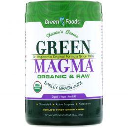 Green Foods Corporation, Green Magma, Сок ячменя, 10,6 унций (300 г)