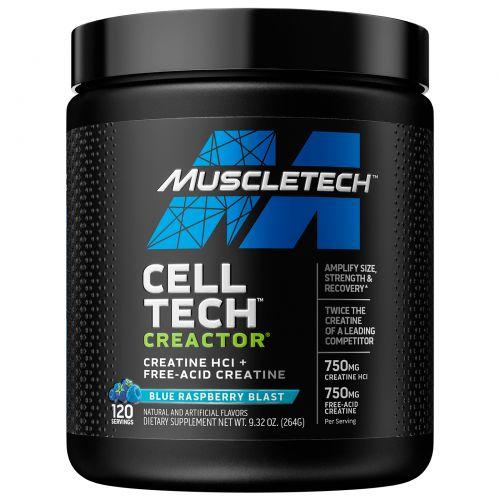 Muscletech, Creactor, Blue Raspberry Blast, 264 г (9,32 унций)