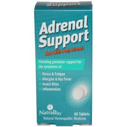 NatraBio, Поддержка надпочечников, 60 таблеток