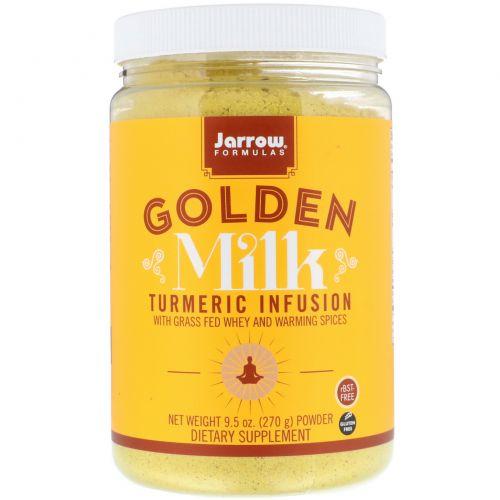 Jarrow Formulas, Золотое Молоко с Куркумой, 9,5 унций (270 г)