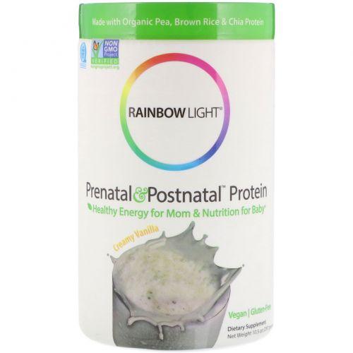 Rainbow Light, Prenatal & Postnatal Protein, Vanilla 10.5 oz