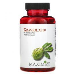 Maximum International, Гравиола 750, 100 капсул на растительной основе