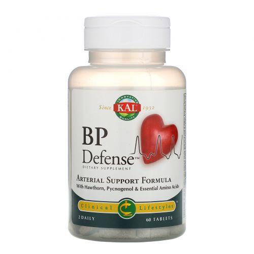 KAL, BP Defense, формула поддержки артерий, 60 таблеток