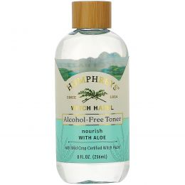 Humphrey's, Witch Hazel, Alcohol Free Toner with Aloe, Nourish, 8 fl oz (236 ml)