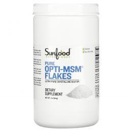 Sunfood, Очищенные хлопья Opti-MSM, 1 фунт (454 г)