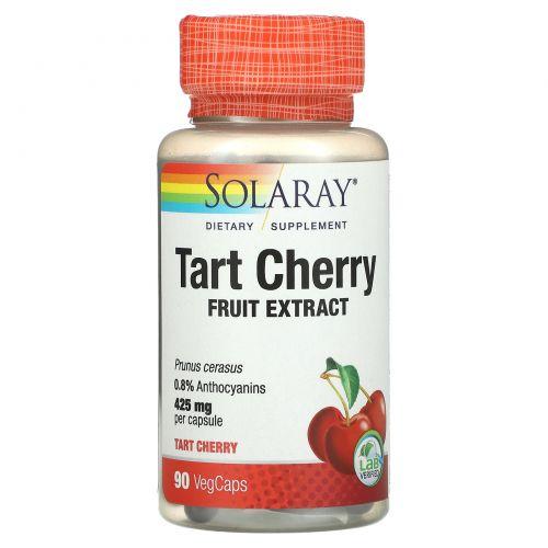 Solaray, Кислая вишня, 425 мг, 90 растительных капсул