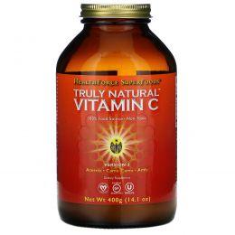 HealthForce Nutritionals, Натуральный витамин C, 17.6 унций (500 г)