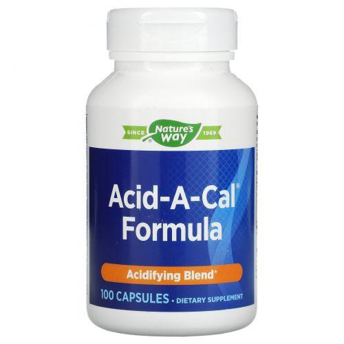 Enzymatic Therapy, Добавка для нормализации кислотности и здоровья суставов с кальцием, 100 Капсул
