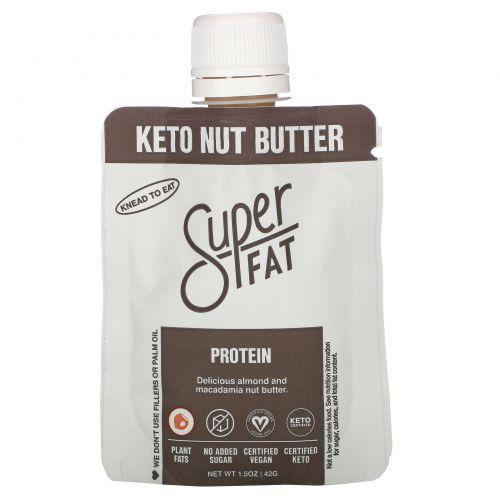 SuperFat, Keto Nut Butter, Protein, 1.5 oz (42 g)