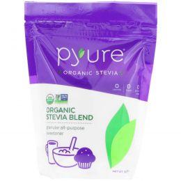 Pyure Brands, Органическая Стевия – Смесь, Гранулированный Универсальный Подсластитель, 16 унций (454 г)