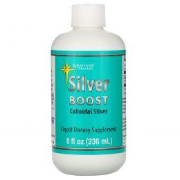 Morningstar Minerals, Silver Boost, коллоидное серебро, 236 мл