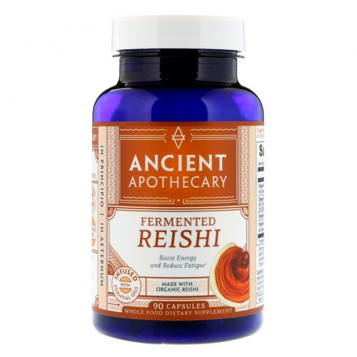 Ancient Apothecary, Fermented Reishi, 90 Capsules
