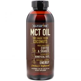 RAPIDFIRE, MCT Oil, Unflavored, 16 oz (473 ml)