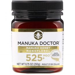 Manuka Doctor, Manuka Honey Monofloral, MGO 525+, 8.75 oz (250 g)