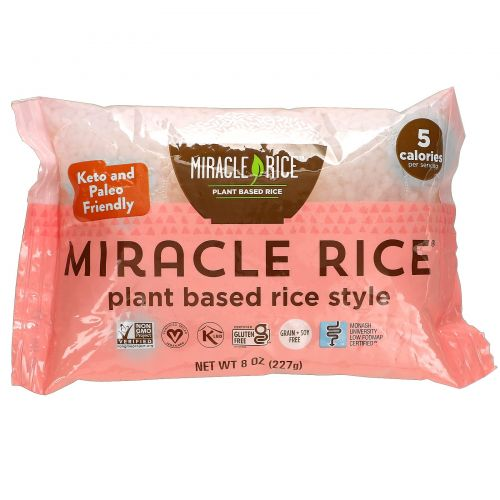 Miracle Noodle, Рис Miracle, 8 унций (227 г)