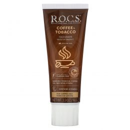 R.O.C.S. , Coffee & Tobacco Toothpaste, 3.3 oz (94 g)