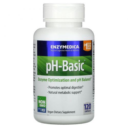 Enzymedica, pH-Basic, 120 капсул