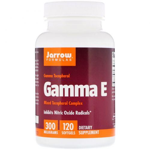 Jarrow Formulas, Гамма E 300 , 120 гелевых капсул