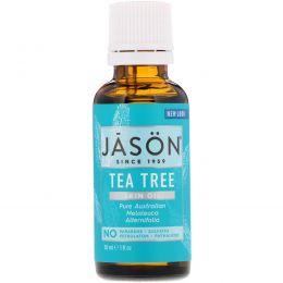Jason Natural, Масло для кожи. Очищающее чайное дерево. 1 жидкая унция (30 мл)