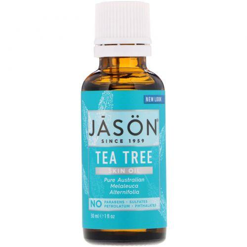 Jason Natural, Skin Oil, Tea Tree, 1 fl oz (30 ml)