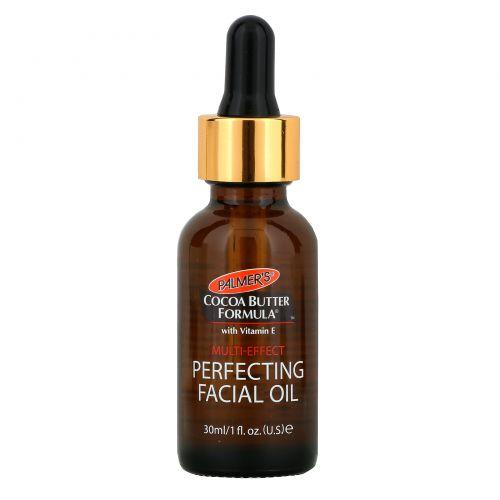 Palmer's, Формула с маслом какао, масло для лица, улучшающее состояние кожи, 1 жид. унция (30 мл)
