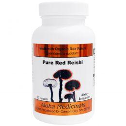 Aloha Medicinals Inc., Капсулы из органической красной ганодермы, 90 капсул