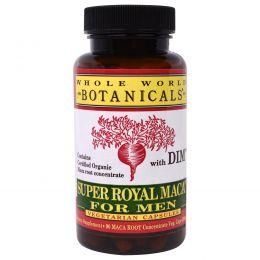 Whole World Botanicals, Super Royal Maca для мужчин, 500 мг, 90 растительных капсул