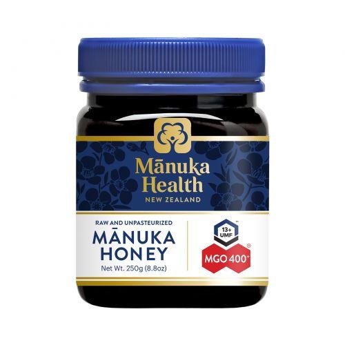 Manuka Health, Manuka Honey, мгO 400+, 8.8 унции (250 g)