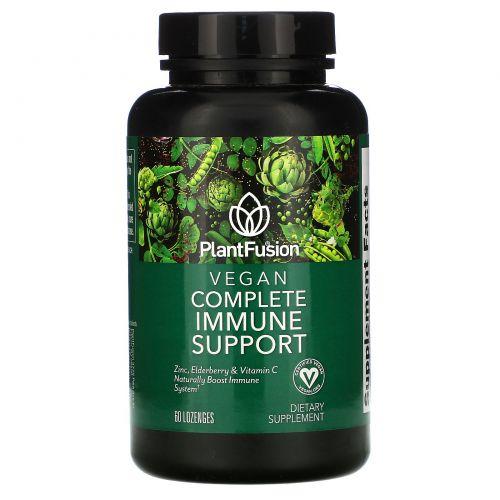 PlantFusion, Vegan Complete Immune Support, 60 Vegan Lozenges