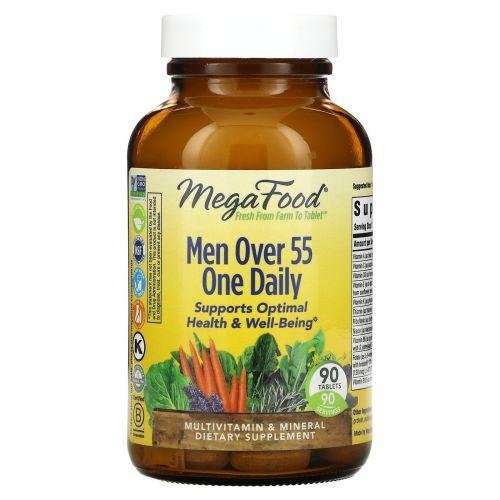 MegaFood, Серия One Daily, добавка для мужчин старше 55лет, 90таблеток