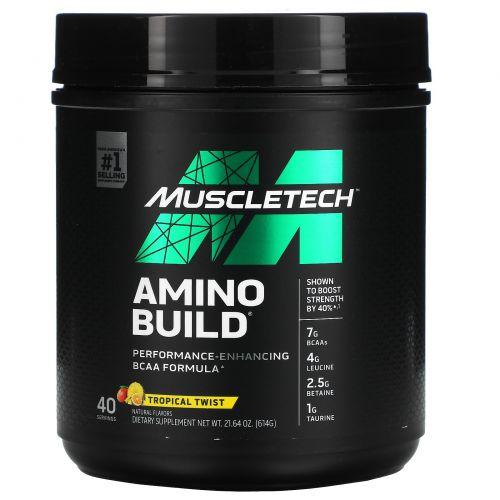 Muscletech, Amino Build, Tropical Twist, 51.64 oz (614 g)