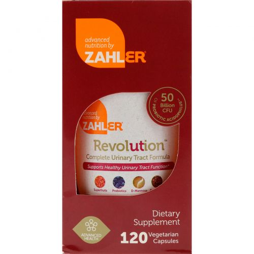 Zahler, Revolution, Complete Urinary Tract Formula, 120 Vegetarian Capsules