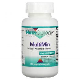 Nutricology, MultiMin, 120 растительных капсул