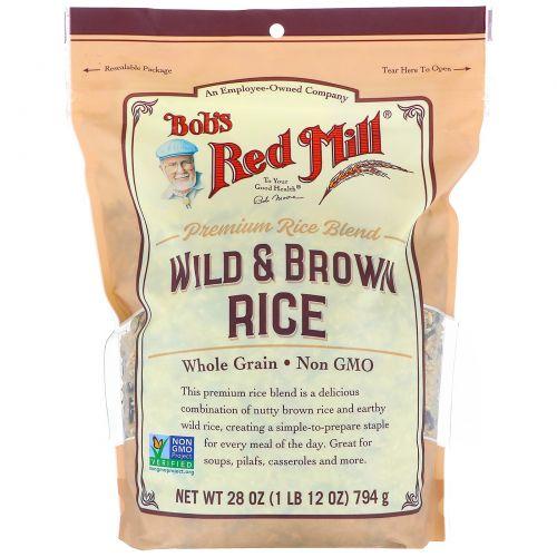 Bob's Red Mill, Wild & Brown Rice, 28 oz (794 g)