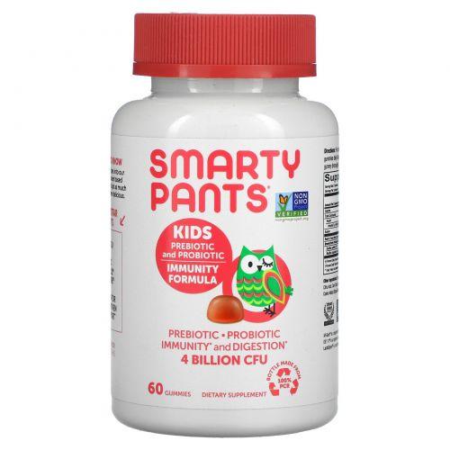 SmartyPants, Complete, Детский Пробиотик, Клубничный Крем, 60 Жевательных Сладостей