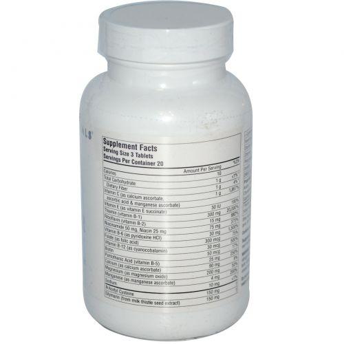 Source Naturals, Средство от похмелья, комплекс питательных веществ, 60 таблеток