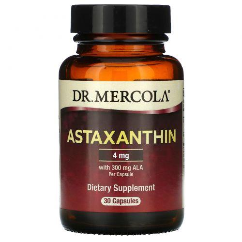 Dr. Mercola, Астаксантин, 30 капсул