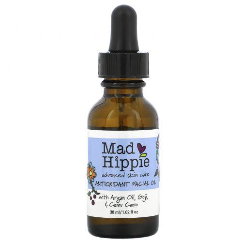 Mad Hippie Skin Care Products, Антиоксидантное масло для лица, 1,02 жидких унций (30 мл)