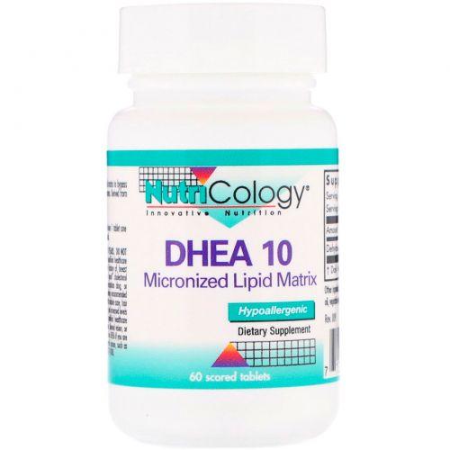 Nutricology, ДГЭА 10, 60 таблеток с насечкой