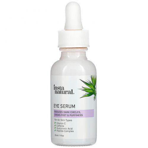 InstaNatural, Сыворотка для глаз, антивозрастная, 1 жидк. унц. (30 мл)