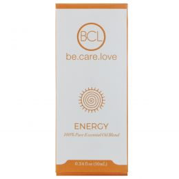 BCL, Be Care Love, Смесь 100% чистого эфирного масла, энергия, 0,34 ж. унц. (10 мл)