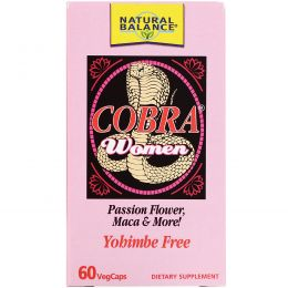 Natural Balance, Cobra Women, 60 VegCaps