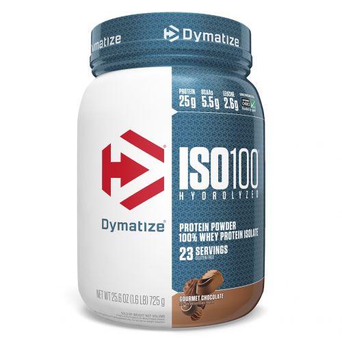 Dymatize Nutrition, ISO 100 гидролизованный 100%-ный изолят сывороточного белка, вкус элитного шоколада, 725 г (25.6 oz)