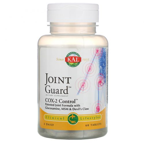 KAL, Joint Guard, COX-2 Control, 60 Tablets