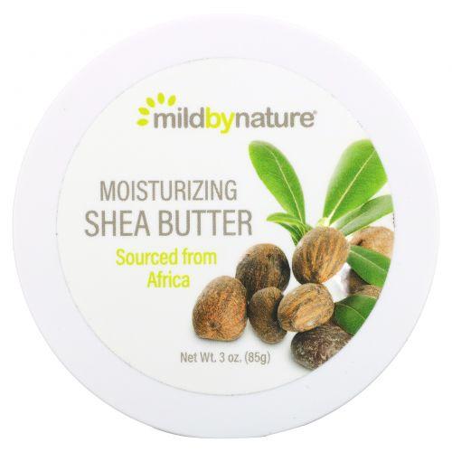 Mild By Nature, Moisturizing Shea Butter, 3.4 oz (96 g)