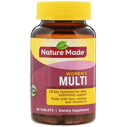 Nature Made, Multi for Her с железом и кальцием, 90 таблеток