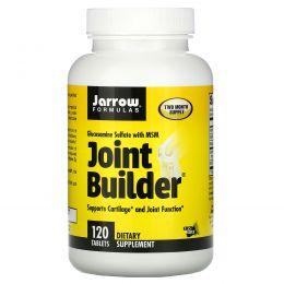 Jarrow Formulas, «Строитель суставов», сульфат глюкозамина и метилсульфонилметан (МСМ), 120 таблеток