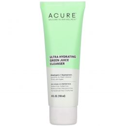 Acure, Ultra Hydrating Green Juice Cleanser, 4 fl oz (118 ml)