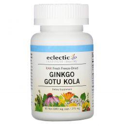 Eclectic Institute, Смесь гинкго и центеллы, 275 мг, 90 капсул на растительной основе